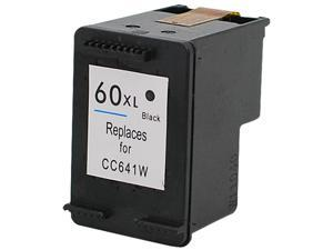 Green Project H-60XLBK(CC641WN) Black Ink Cartridge Replaces HP 60XLBK(CC641WN)
