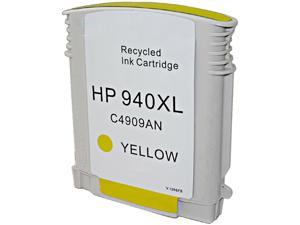 Green Project H-940XLY(C4909AN) Yellow Ink Cartridge Replaces HP 940XLY(C4909AN)