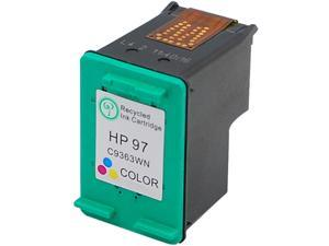 Green Project H-97(C9363WN) 3 Colors Ink Cartridge Replaces HP 97(C9363WN)