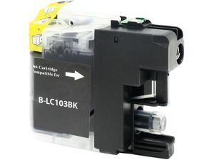 Green Project B-LC103BK Black Ink Cartridge Replaces Brother LC103BK