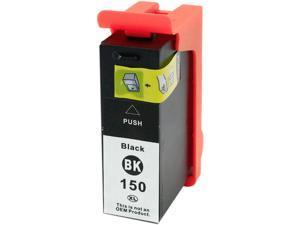 Green Project L-14N1636(150XLBK) Black Ink Cartridge Replaces Lexmark 14N1636(150XLBK)