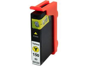 Green Project L-14N1650(150XLY) Yellow Ink Cartridge Replaces Lexmark 14N1650(150XLY)