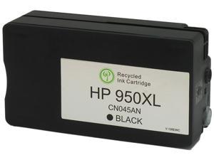 Green Project H-950XLBK(CN045AN) Ink Cartridge (OEM# HP 950XLBK) 2300 Page Yield&#59; Black