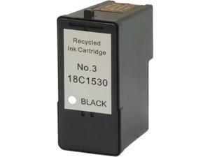 Green Project L-18C1530(3) Compatible Lexmark 3 Black Ink Cartridge
