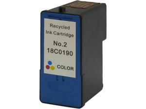Green Project L-18C0190(2) Compatible Lexmark 2 Color Ink Cartridge