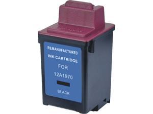 Green Project L-12A1970(1970) Compatible Lexmark 1970 Black Ink Cartridge