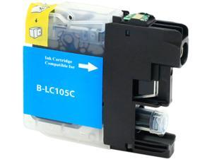 Green Project B-LC105C Compatible Brother LC 105 Cyan