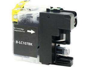 Green Project B-LC107BK Compatible Brother LC 107 Black