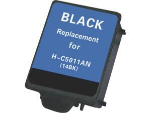 Green Project Compatible HP 14 Black