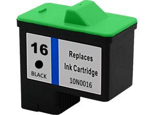 Green Project Compatible Lexmark 16 Black