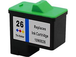 Green Project Compatible Lexmark 26 Color