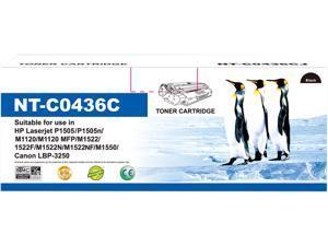 G&G NT-C0436 Black Toner Replaces HP 36A CB436A