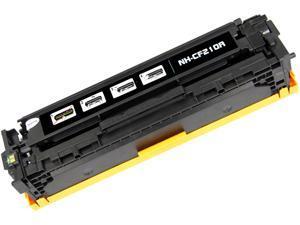 G & G NT-CH210QFBK Black Laser Toner Cartridge Replaces HP CF210A HP 131A, Canon 131 / 6272B001AA