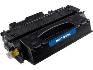 G & G NT-C7553X High-Yield Black Laser Toner Cartridge Replaces HP Q7553X HP 53X