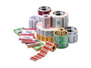 "Zebra 10010031 Label Paper Direct Thermal Zebra Z-Perform 2000d, 4"" Width X 2"" Length - 1240/Roll - 1"" Core - 6 / Carton - White"