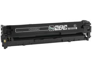 eReplacements CE320A-ER Black Compatible Toner Cartridge