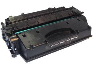 eReplacements CE505X-ER Black Compatible Toner Cartridge