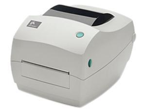 Zebra GC420t Thermal Transfer Label Printer - 203 DPI, USB/Serial/Parallel Connectivity, Dispenser