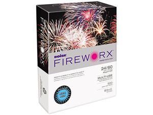 Boise FIREWORX Colored Paper, 24lb, 8-1/2 x 11, Aerial Aqua, 500 Sheets/Ream