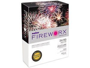 Boise FIREWORX Colored Paper, 24lb, 8-1/2 x 11, Combustible Orange, 500 Sheets/Ream