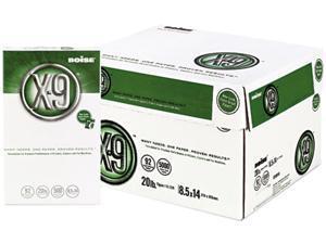 Boise OX-9004 X-9 Copy Paper, 92 Brightness, 20lb, 8-1/2 x 14, White, 5000 Sheets/Carton