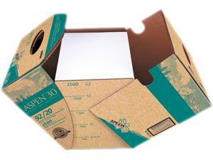 Boise SP-RC20 SPLOX 30% Recycled Office Paper, 92 Bright, 20lb, 8-1/2x11, White, 2500/Carton