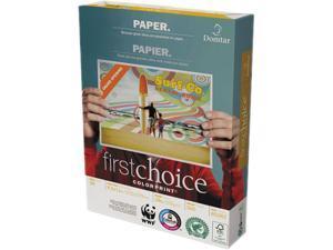 Domtar 85283 ColorPrint Premium Paper, 98 Brightness, 28lb, 8-1/2 x11, White, 500 Sheets/Ream