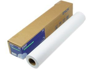 """Epson America S041385 Doubleweight Matte Paper, 24"""" x 82 ft, White"""