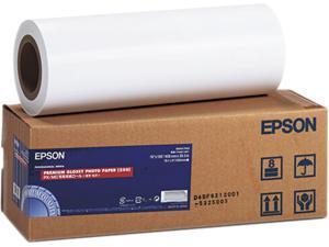 "Epson S041742 Premium Glossy Photo Paper Rolls, 16"" x 100 ft, Roll"