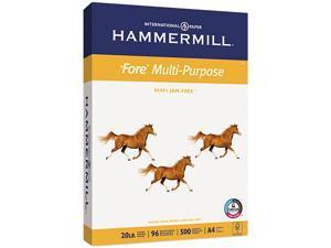 Hammermill 10303-6 Fore MP Multipurpose Paper, 96 Brightness, 20lb, 8-3/8 x 11-3/4, White, 500/Ream