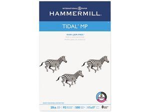 Hammermill 16202-4 Tidal MP Copy Paper, 92 Brightness, 20lb, 11 x 17, White, 500 Sheets/Ream