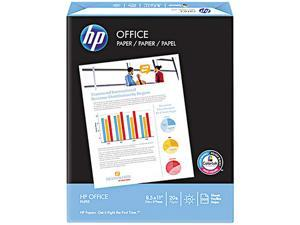 Hewlett-Packard 00142-2 Office Paper, 92 Brightness, 20lb, 8-1/2 x 14, White, 500 Sheets/Ream