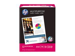 Hewlett-Packard Multipurpose Paper, 96 Brightness, 20lb, 8-1/2 x 11, White, 500 Sheets/Ream