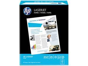 Hewlett-Packard 11240-0 LaserJet Paper, 98 Brightness, 24lb, 8-1/2 x 11, Ultra White, 500 Sheets/Ream