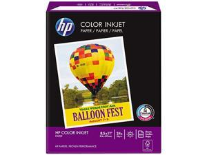 Hewlett-Packard 20200-0 Color Inkjet Paper, 96 Brightness, 24lb, 8-1/2 x 11, White, 500 Sheets/Ream