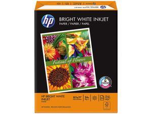 Hewlett-Packard 20300-0 Bright White Inkjet Paper, 97 Brightness, 24lb, 8-1/2 x 11, 500 Sheets/Ream