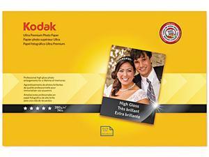 Kodak 1760909 Ultra Premium Photo Paper, 76 lbs., High-Gloss, 11 x 17, 20 Sheets/Pack