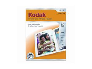 Kodak Premium Photo Paper, 64lb, Glossy, 8-1/2 x 11, 50 Sheets/Pack