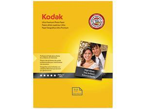 Kodak 8777757 Ultra Premium Photo Paper, 76 lbs., High-Gloss, 4 x 6, 20 Sheets/Pack