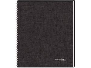 Mead 06066 Cambridge Limited Business Notebook, Ruled, Letter, White, 80 Sheets/Pad