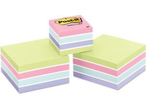 Post-it Notes 2053-SPVAD Cubes, One 360-Sheet 2 x 2, Two 400-Sheet 3 x 3, Sweet Pea