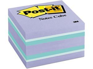 Post-it Notes 2056-PP Cube, 3 x 3, Blue Ice, 490 Sheets