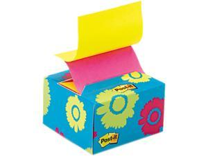 Post-it Pop-up Notes B330-BD Pop-up Notes in a Desk Grip Decorative Box, 3 x 3, Daisy