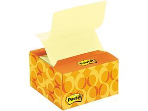 Post-it Pop-up Notes B330-C6 Pop-up Notes in a Desk Grip Decorative Box, 3 x 3, AST