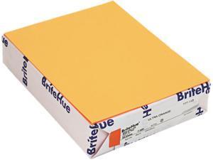 Mohawk 10244-2 Brite-Hue Multipurpose Colored Paper, 24lb, 8-1/2 x 11, Ultra Orange, 500/Ream