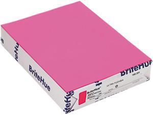 Mohawk 18520-1 Brite-Hue Multipurpose Colored Paper, 20lb, 8-1/2x11, Ultra Fuchsia, 500 Shts/Rm