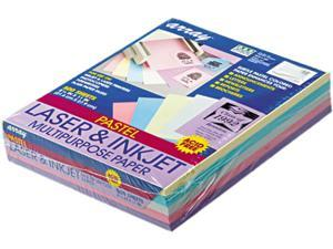 Pacon 101058 Array Colored Bond Paper, 20lb, 8-1/2 x 11, Assorted Pastels, 500 Sheets/Ream
