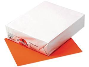 Pacon 102051 Kaleidoscope Multipurpose Colored Paper, 24lb, 8-1/2 x 11, Pumpkin, 500 Shts/Rm