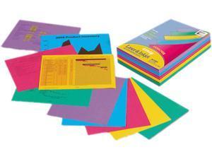 Pacon 101346 Array Colored Bond Paper, 24lb, 8-1/2 x 11, Assorted Designer Colors, 500/Ream