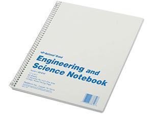 Rediform 33610 Engineering & Science Notebook, College Rule, Ltr, WE, 60 Sheets/Pad